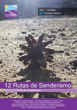 Portada del Volumen I de Guías de Senderismoguadalajara