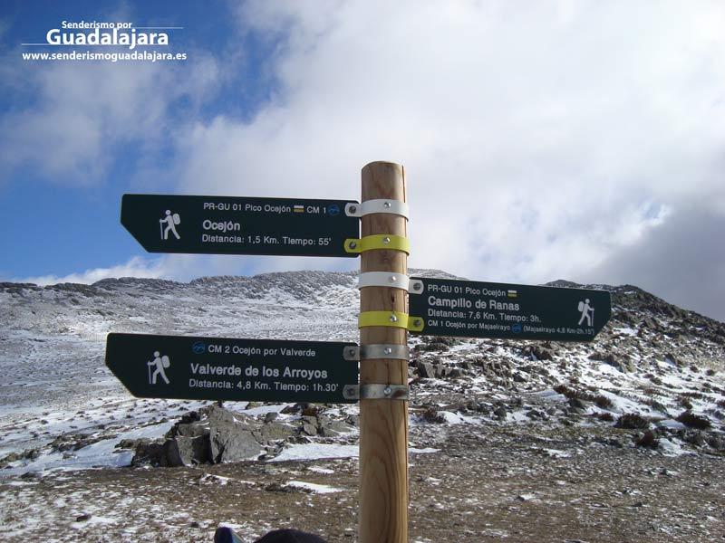 poste_de_senalizacion_ruta_sendero_pr_gu_pico_ocejon_majaelrayo_senderismo_guadalajara