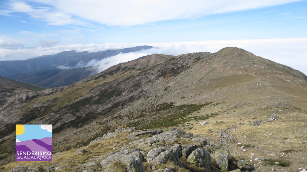 Vistas desde la Cima del Pico del Lobo, en Guadalajara
