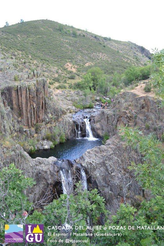 Cascadas del Aljibe, desde El Espinar
