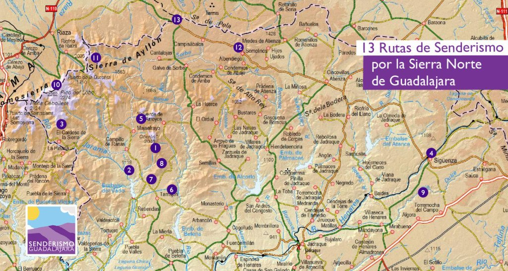 imagen_mapa_13_rutas_de_senderismo_por_guadalajara