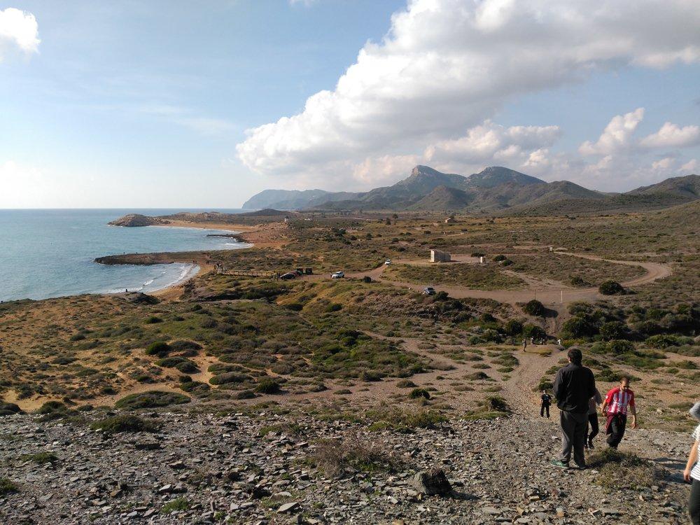 Senderismo por el Parque Natural de Calblanque, en Murcia
