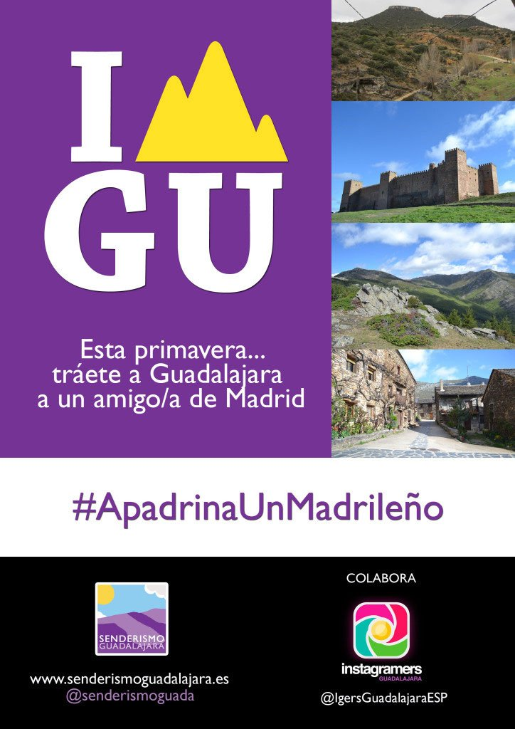 cartel_senderismo_guadalajara_primavera2016