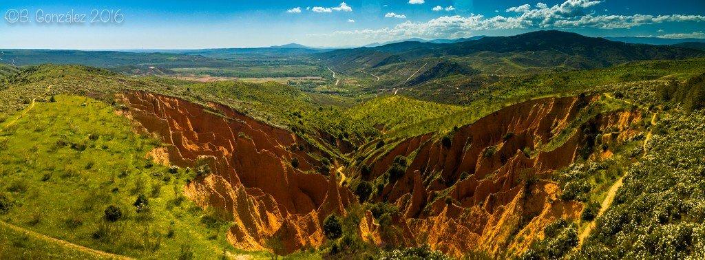 Guadalajara a vista de Drone (I): las Cárcavas de Alpedrete de la Sierra (también llamadas de Patones)