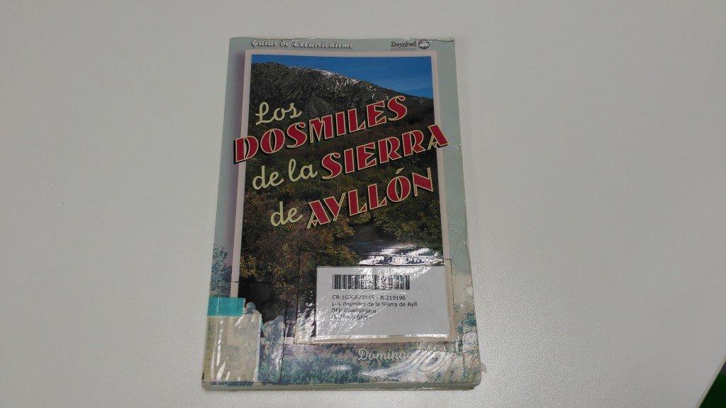 Libros de guadalajara (IV): Los Dosmiles de la Sierra de Ayllón de Domingo Pliego