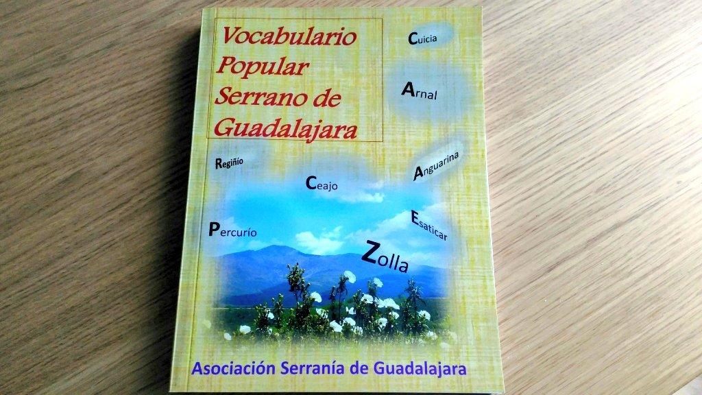 Libros de Guadalajara (VI): Vocabulario Popular Serrano de Guadalajara