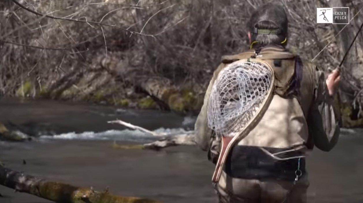 De pesca en la Selva de la Alcarria, con Jesús Calambres y el canal Caza y Pesca