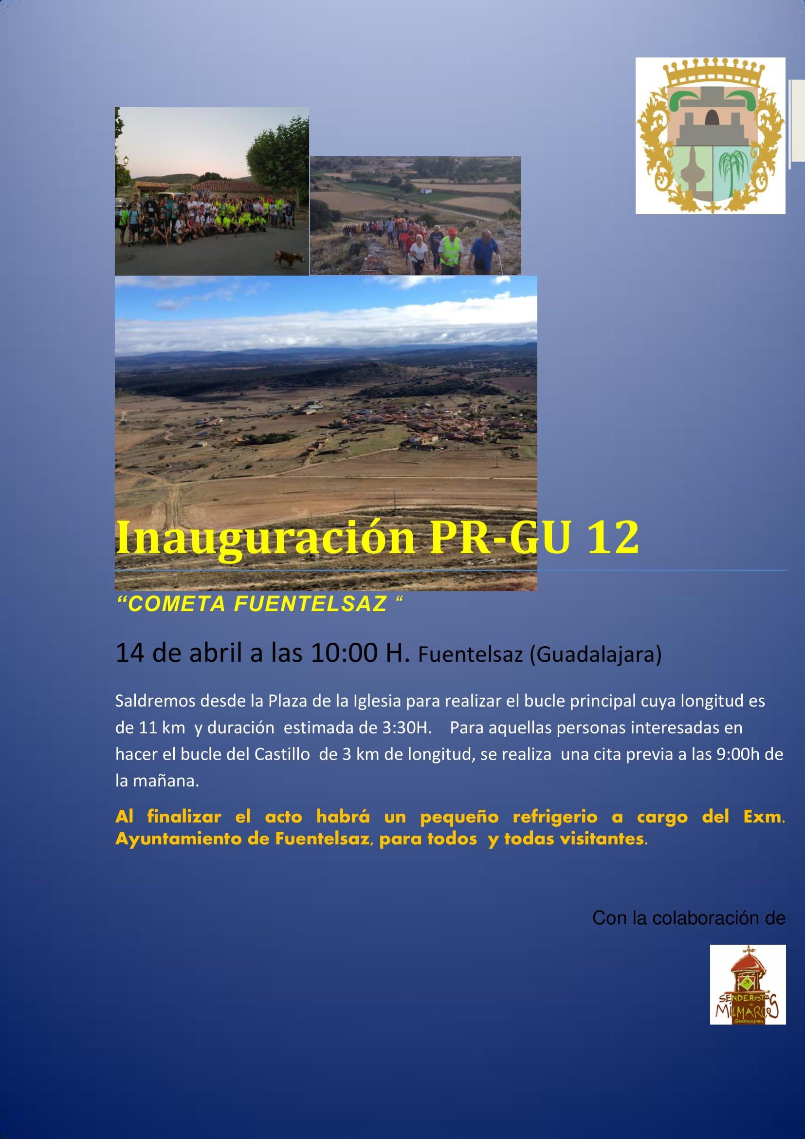 Se inaugura la ruta PR-GU 12 «Cometa de Fuentelsaz»