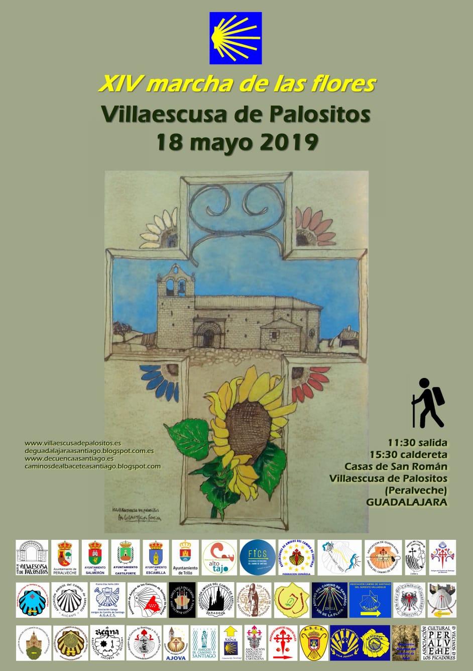 El próximo 18 de mayo Marcha a Villaescusa de Palositos