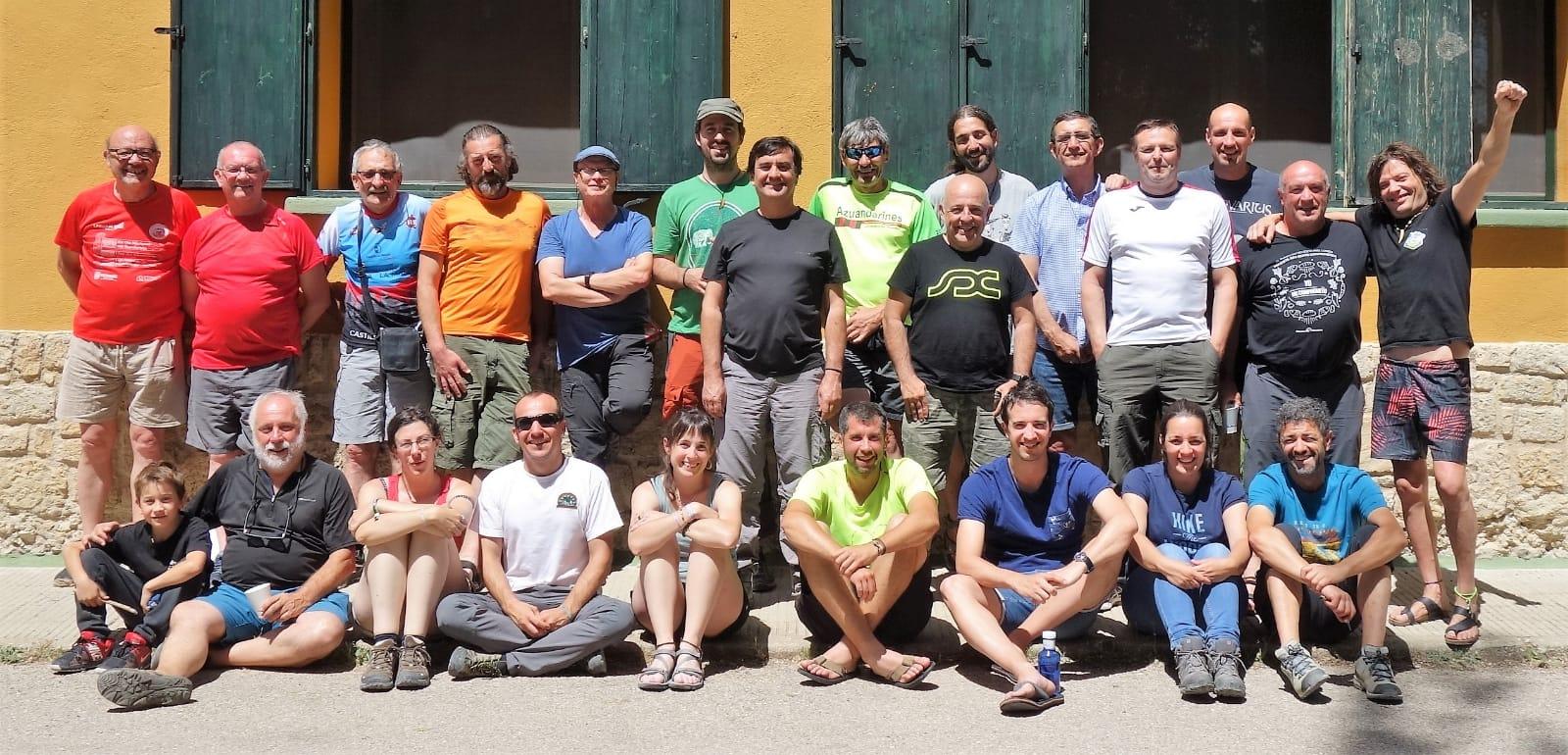 Gran fin de semana de convivencia dentro del Curso de Técnicos de Senderos en Tragacete, Cuenca