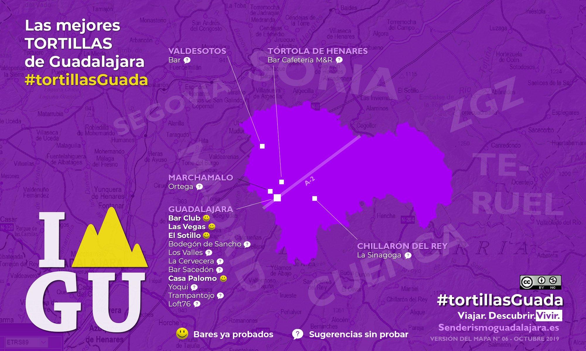 ¿Quieres saber dónde están las mejores tortillas de patatas de Guadalajara?