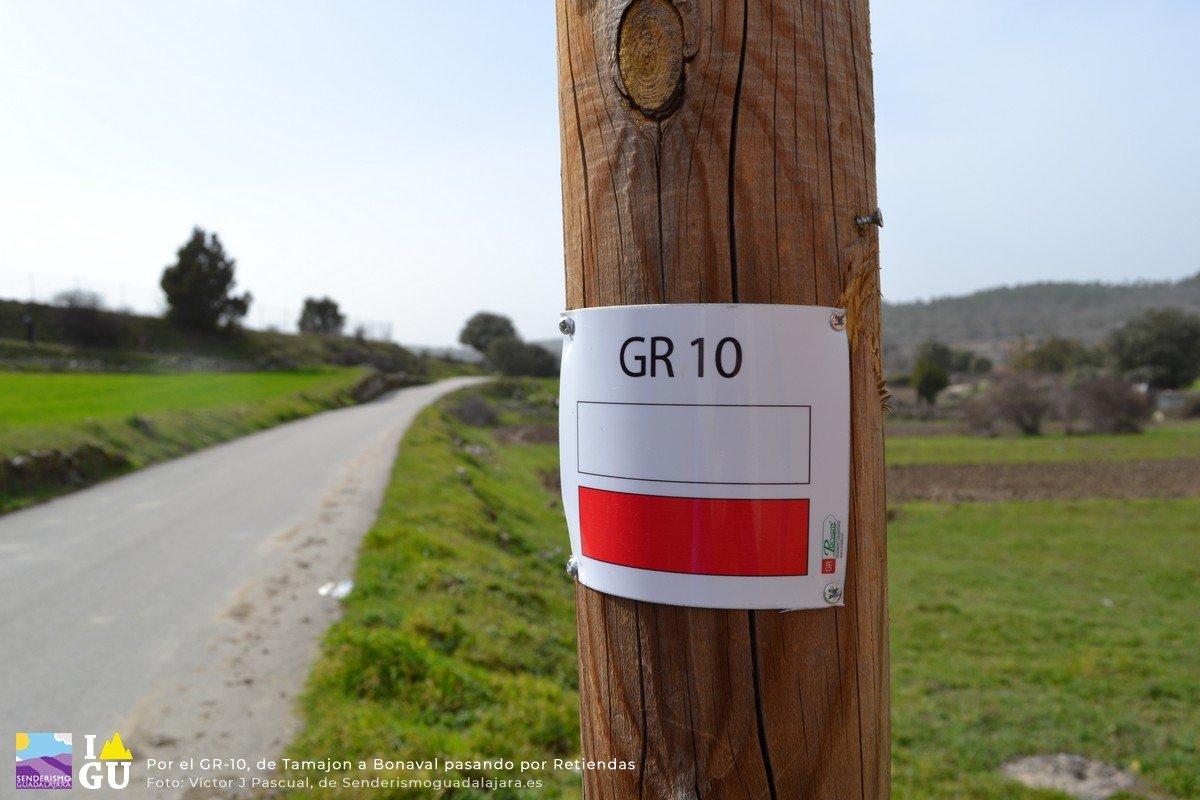 SPG-59: por el GR-10, de Tamajón a Bonaval y vuelta pasando por Retiendas
