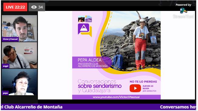 Estrenamos «Conversaciones sobre senderismo y Guadalajara»