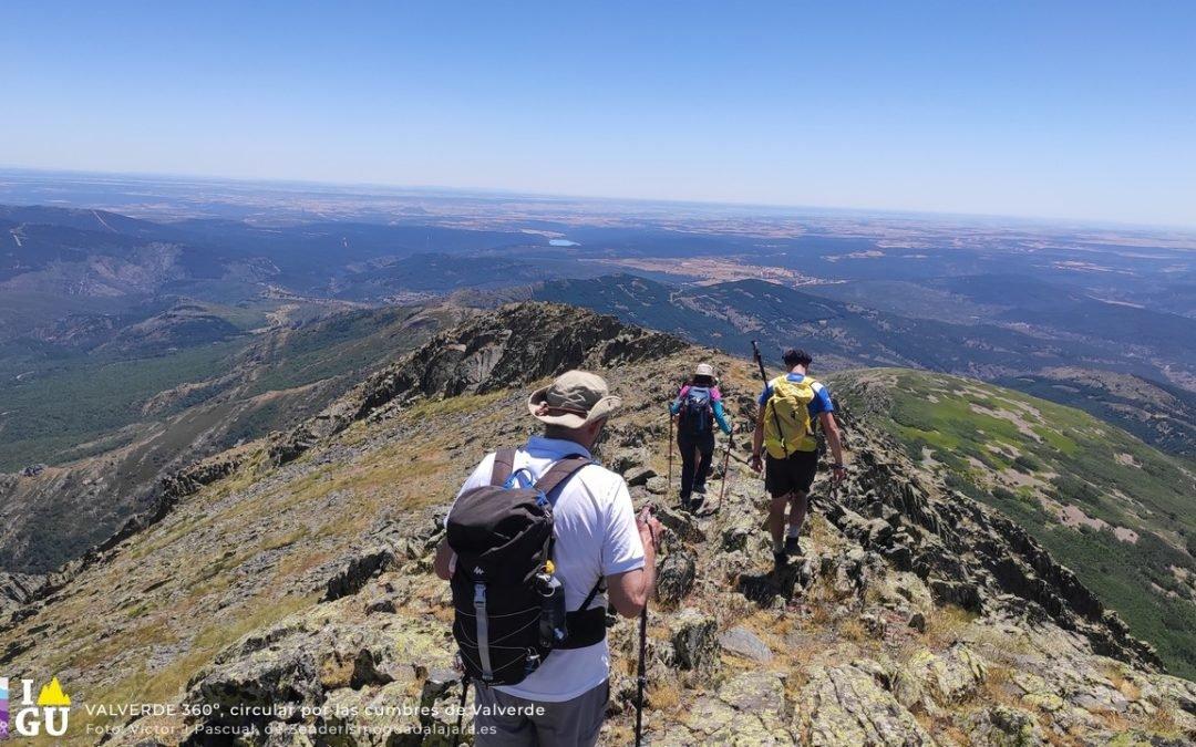 Valverde 360º, crónica de una ruta circular por las cumbres y colinas que rodean Valverde de los Arroyos