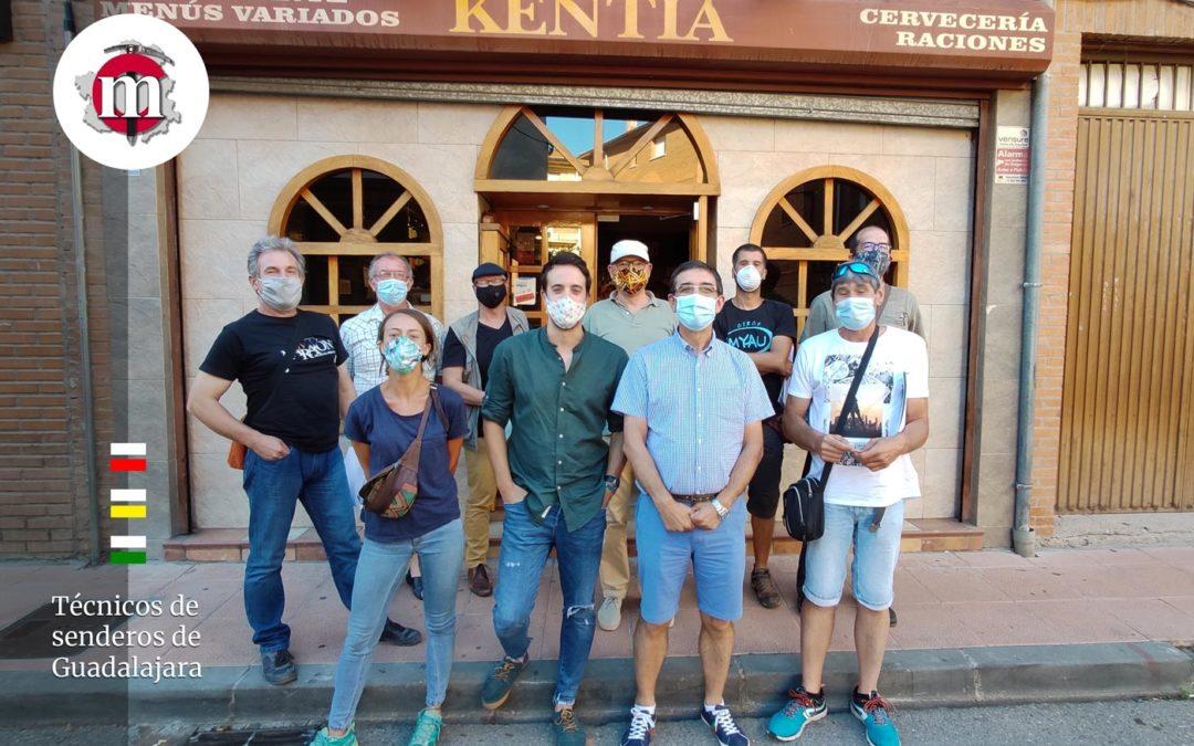 Reunión de trabajo del comité de Técnicos de senderos de la provincia de Guadalajara