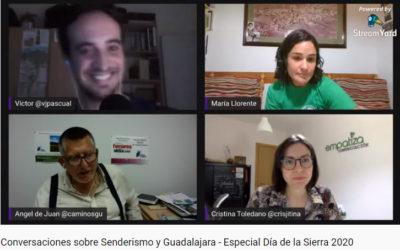 ¿Quieres ver el último Conversaciones sobre senderismo y Guadalajara Especial Día de la Sierra?
