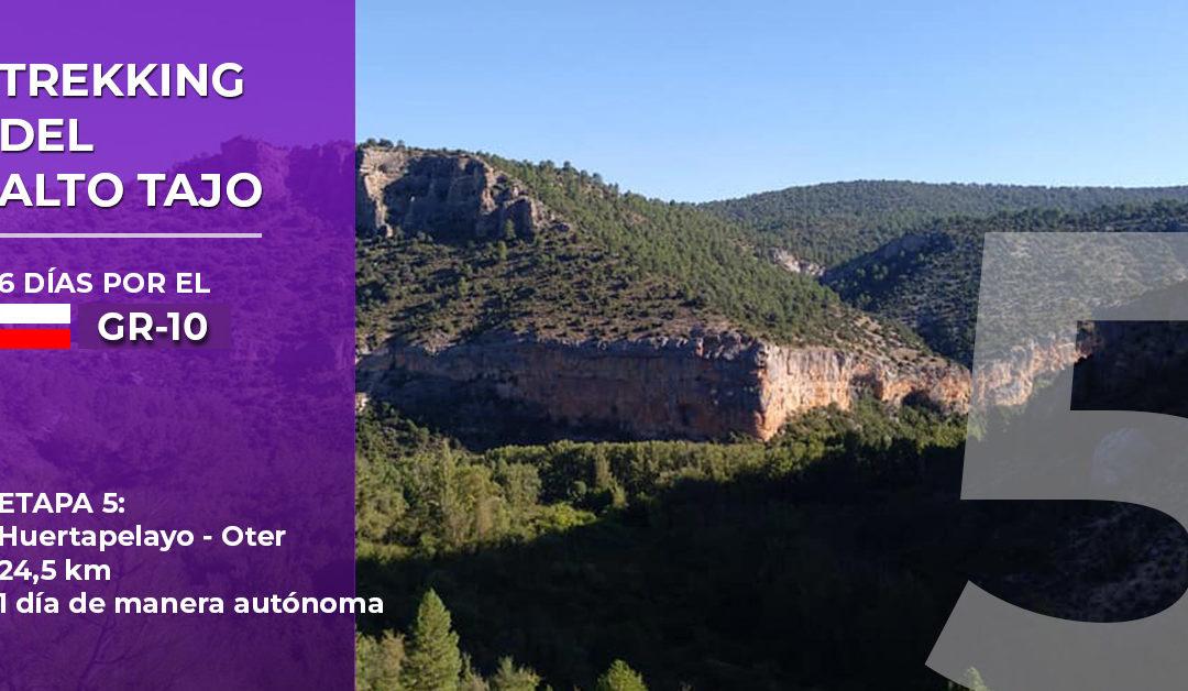 Trekking del Alto Tajo: etapa 5. Huertapelayo – Oter