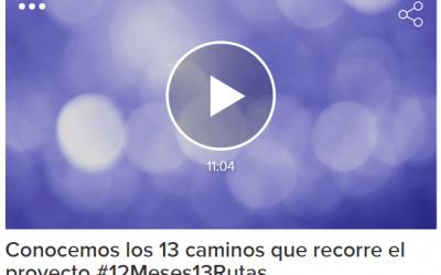 Finalizamos el proyecto #12MESES13RUTAS con una entrevista en SER Guadalajara