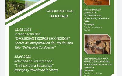 Actividades en Mayo y Junio en los Parques Naturales de Guadalajara – VIVE TU ESPACIO