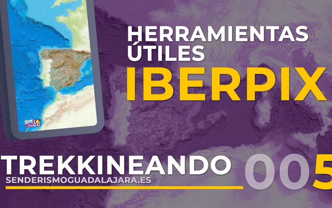 TREKKINEANDO 005 – Qué es IBERPIX visor de mapas y para qué sirve