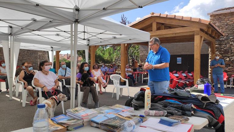 Éxito en el Curso de Iniciación al senderismo y la charla sobre rutas de senderismo Sierra Norte de Guadalajara en Bustares